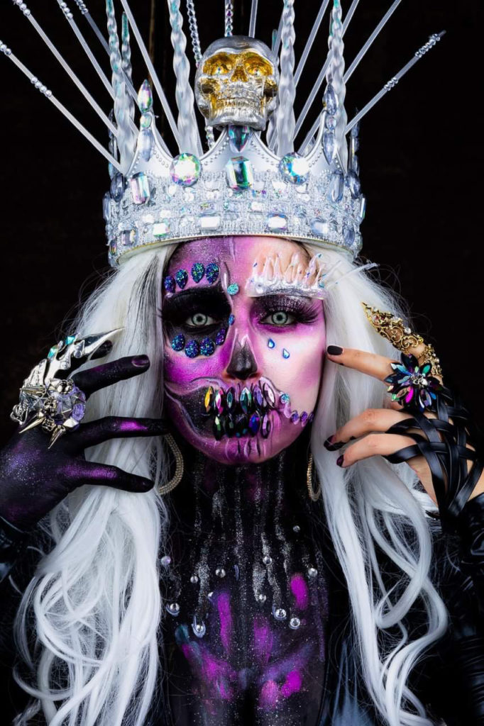 syracuse halloween makeup marcela tobar